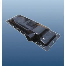 бак радиатора нижний   70у.1301.075 МТЗ-80,  Т-70С, Т-70В, МТЗ-80Х, МТЗ-923 латунный  (Оренбургский радиатор)