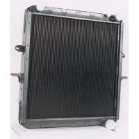 Радиатор охлаждения  МАЗ  64229-1301010  (медный 4-х ряд  СУПЕР)  ШААЗ