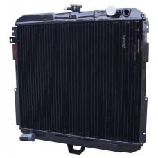 Радиатор  охлаждения 33104Ш-1301010  ГАЗ-3310 Валдай (медный 3-х рядный) ШААЗ